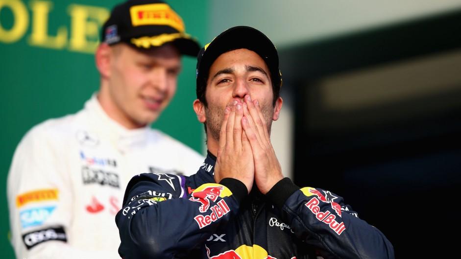 Losing podium better than retiring – Ricciardo
