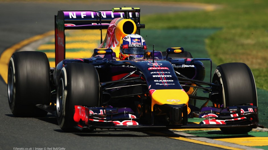 Red Bull not as slow as expected, says Ricciardo