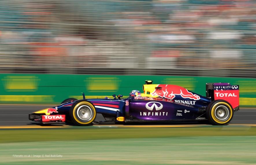 Daniel Ricciardo, Red Bull, Albert Park, 2014