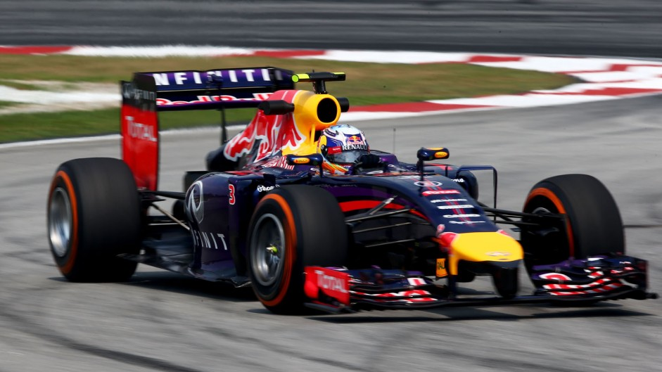 Daniel Ricciardo, Red Bull, Sepang International Circuit, 2014