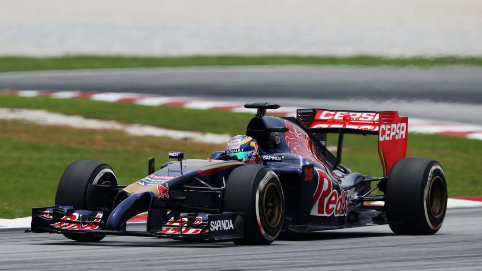 Jean-Eric Vergne, Toro Rosso, Sepang International Circuit, 2014