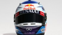 Sebastian Vettel helmet, Red Bull, 2014