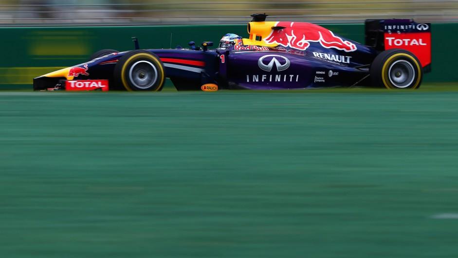 Sebastian Vettel, Red Bull, Albert Park, 2014