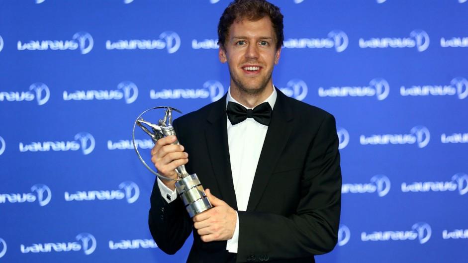 Sebastian Vettel, Red Bull, Laureus awards, 2014
