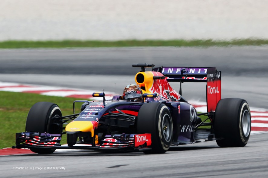 Sebastian Vettel, Red Bull, Sepang International Circuit, 2014