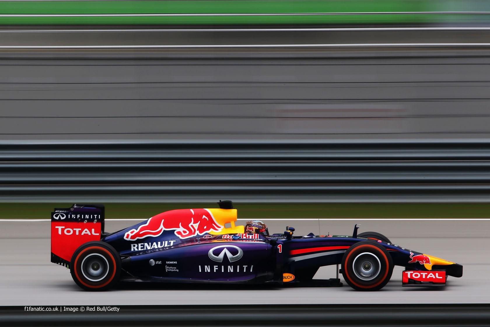 Sebastian Vettel, Red Bull, Sepang International Circuit, 2014
