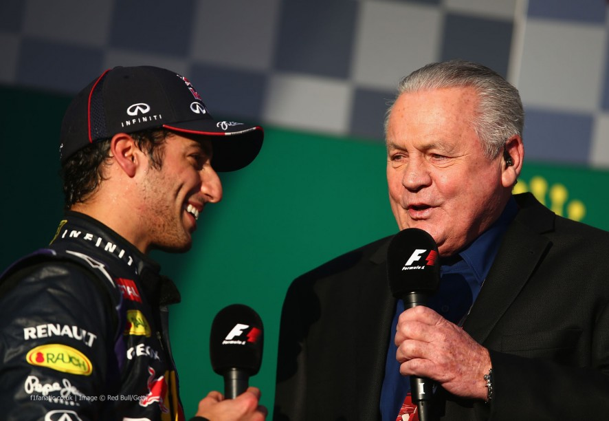 Daniel Ricciardo, Alan Jones, Albert Park, 2014