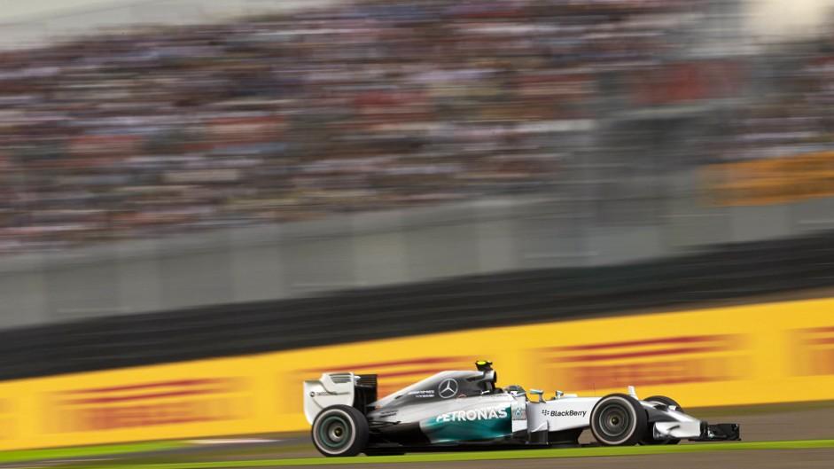 Rosberg quickest as Suzuka bites Hamilton