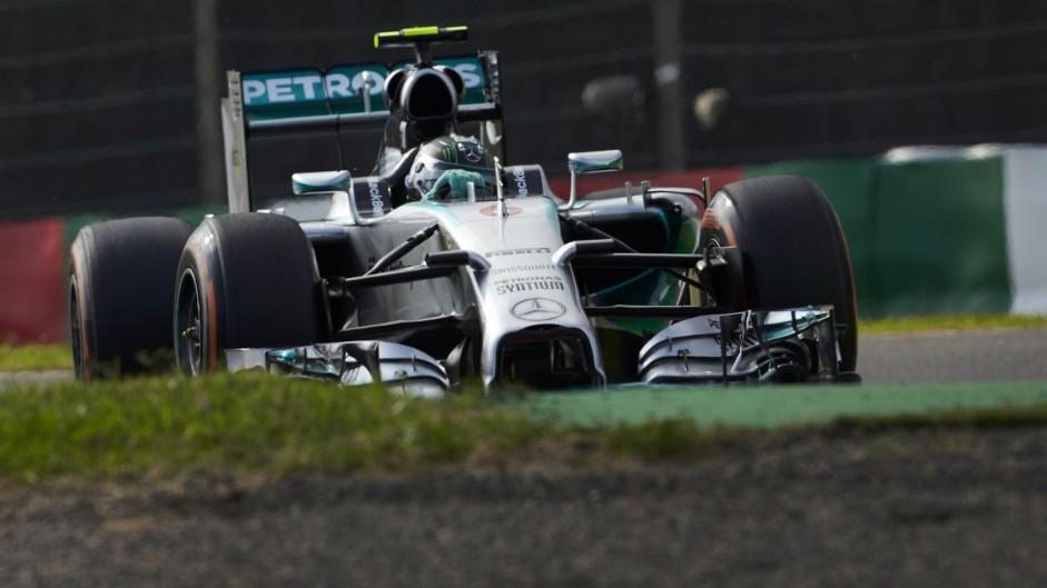 2014 Japanese Grand Prix grid