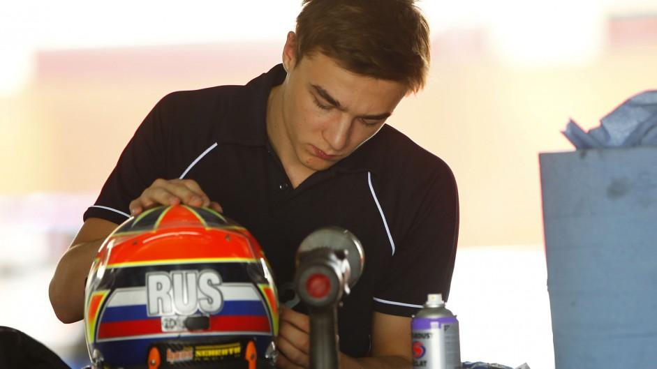 Artem Markelov, Russian Time, GP2, Bahrain, 2014