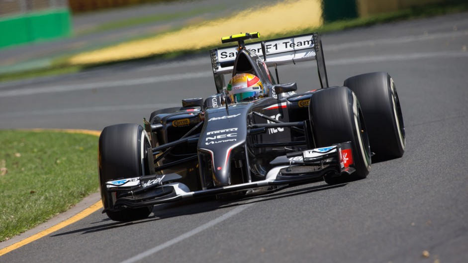 Esteban Gutierrez, Sauber, Albert Park, 2014
