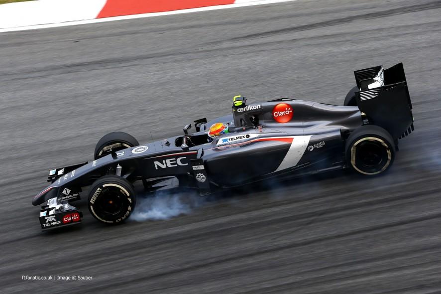 Esteban Gutierrez, Sauber, Sepang International Circuit, 2014