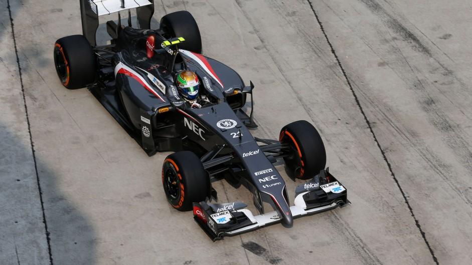 New chassis for Gutierrez after Maldonado crash