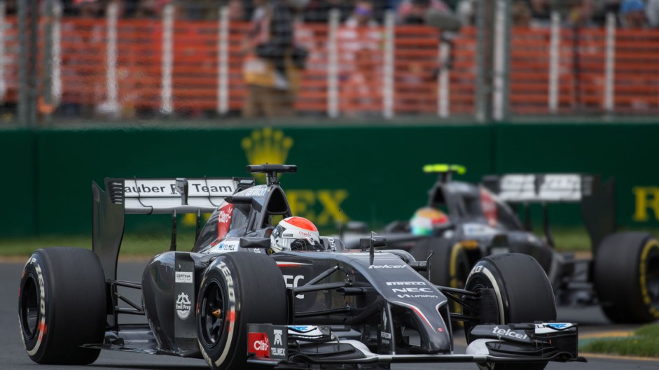 "Lapped Sauber ""simply too slow"" – Sutil"