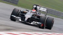 Adrian Sutil, Sauber, Sepang International Circuit, 2014