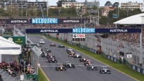 Start, 2014 Australian Grand Prix, Albert Park, Melbourne