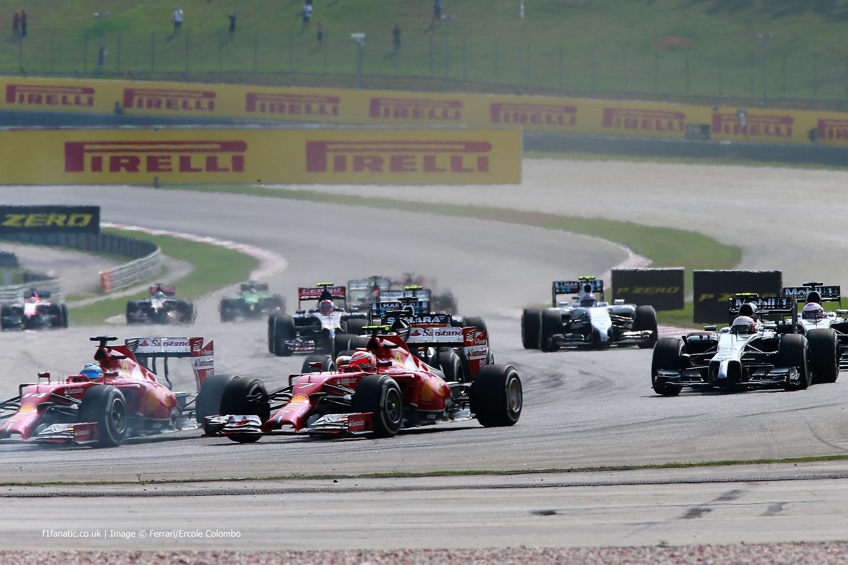 Start, Sepang International Circuit, 2014