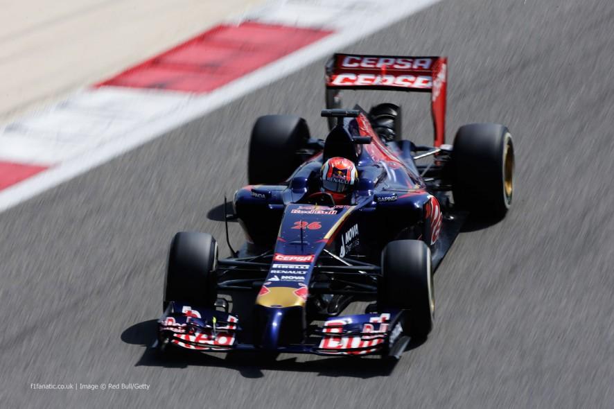 Daniil Kvyat, Toro Rosso, Bahrain, 2014
