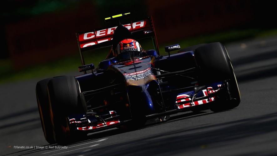 Daniil Kvyat, Toro Rosso, Albert Park, 2014