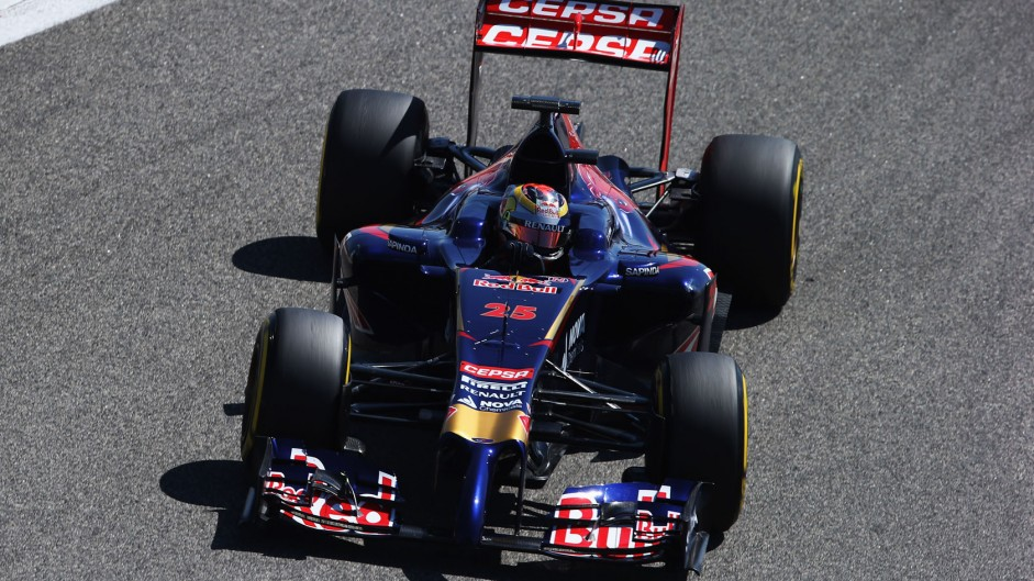 Toro Rosso struggling after Renault engine switch