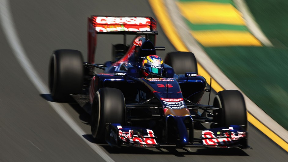 Jean-Eric Vergne, Toro Rosso, Albert Park, 2014