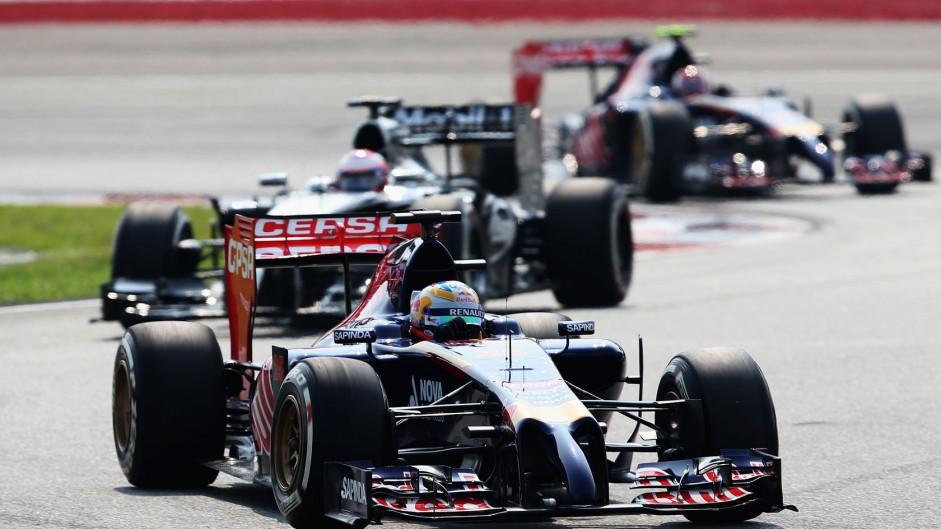 Jean-Eric Vergne, Toro Rosso, Sepang International Circuit, 2014