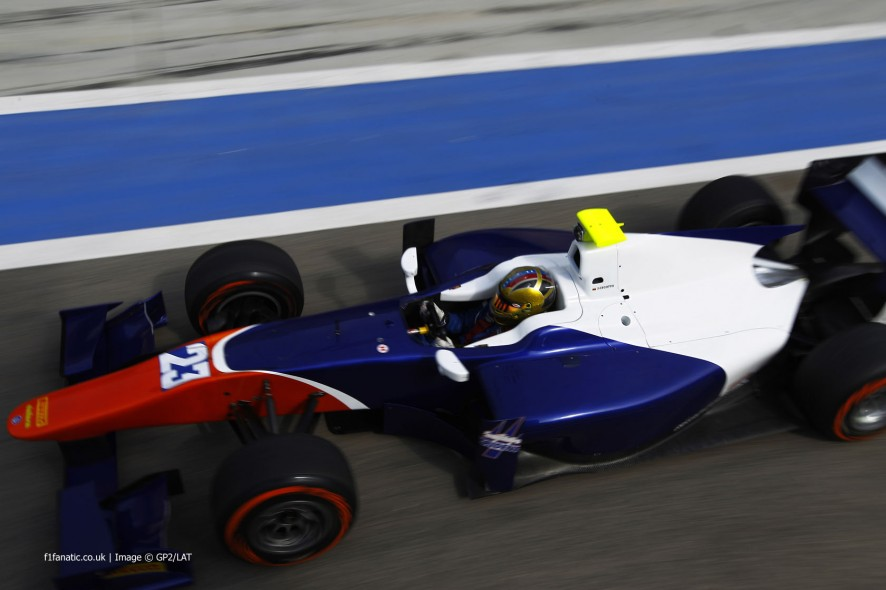 Johnny Cecotto Jnr, Trdent, GP2, Bahrain, 2014