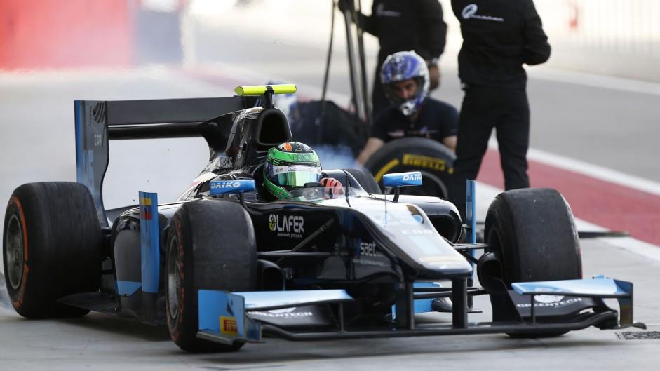 Conor Daly, Venezuela GP Lazarus, GP2, Bahrain, 2014