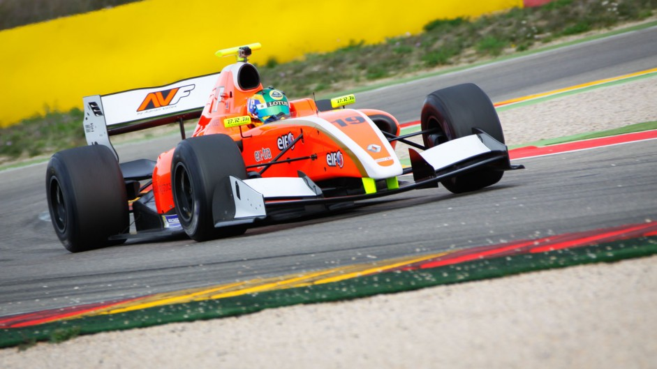 Beitske Visser, Formula Renault 3.5, Motorland Aragon, 2014