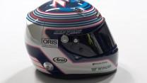Valtteri Bottas helmet, Williams, 2014