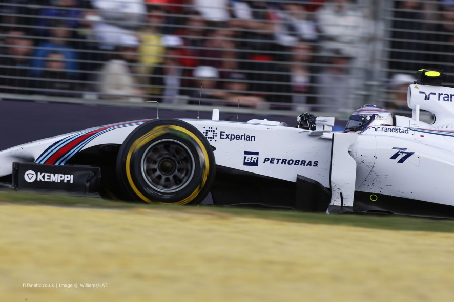 Valtteri Bottas, Williams, Albert Park, 2014