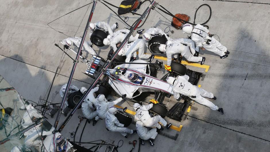 Valtteri Bottas, Williams, Sepang International Circuit, 2014