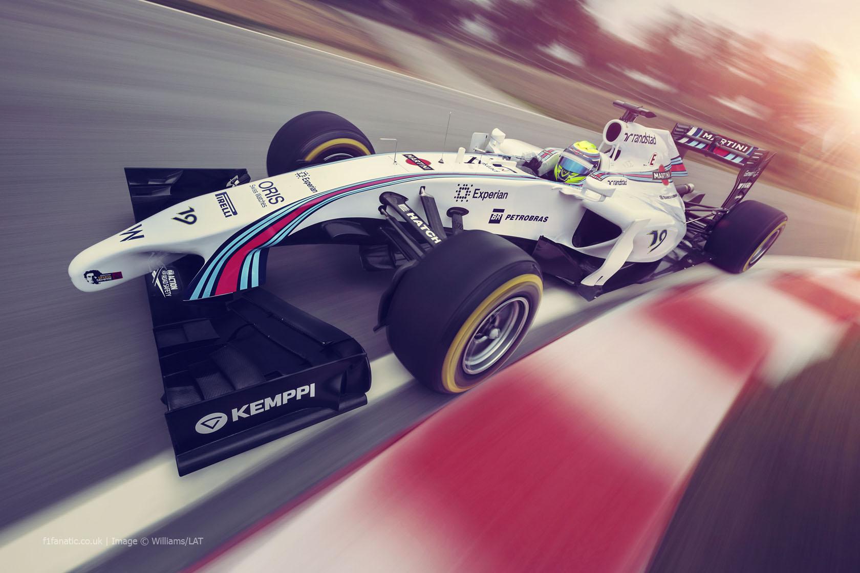 Williams FW36 - Martini livery reveal, 2014