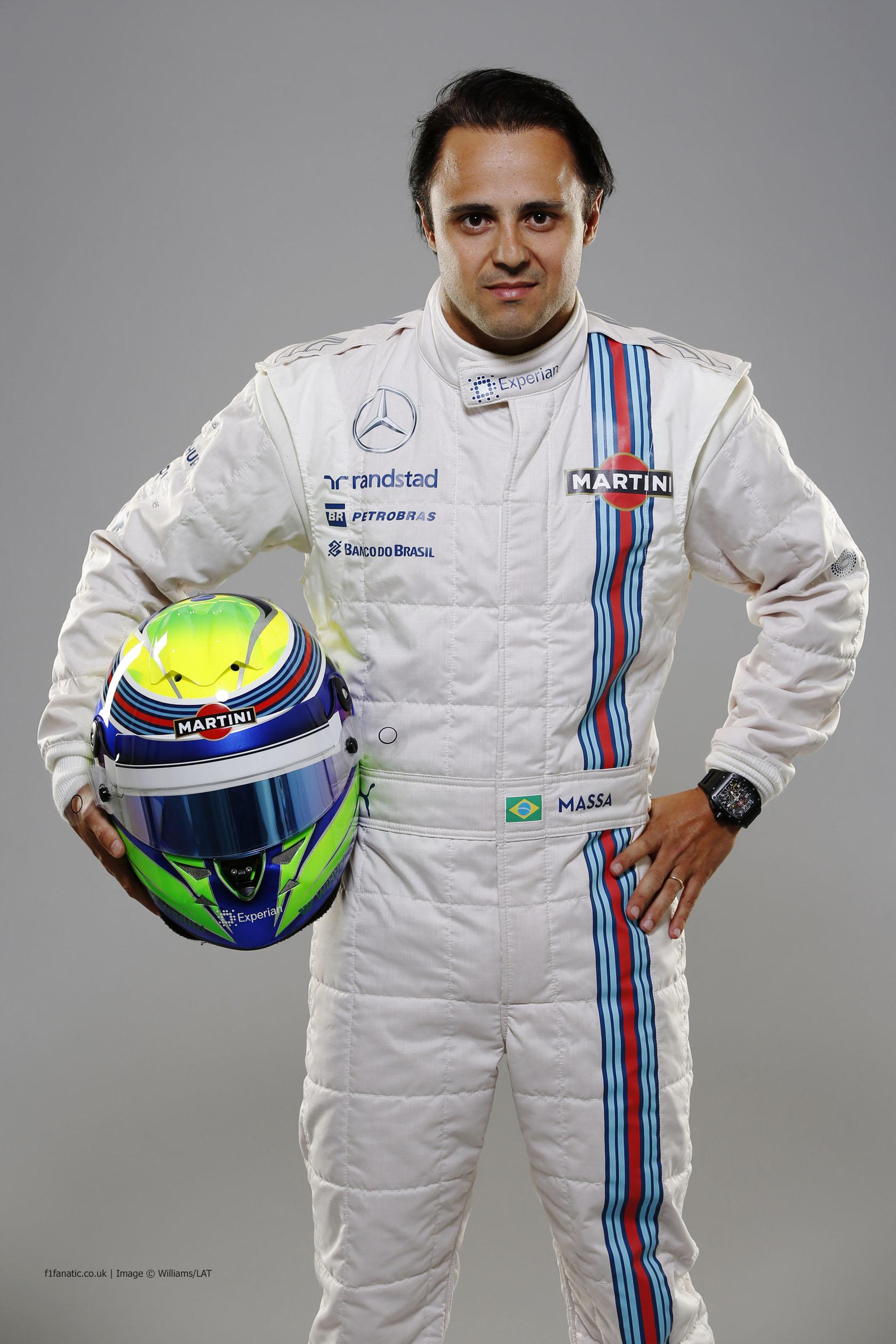 Felipe Massa, Williams, 2014 · F1 Fanatic Felipe Massa