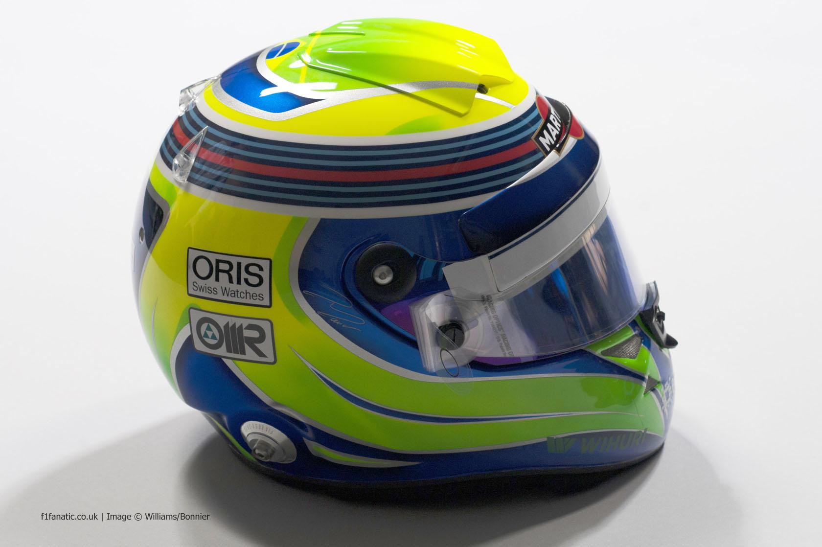 Felipe Massa helmet, Williams, 2014