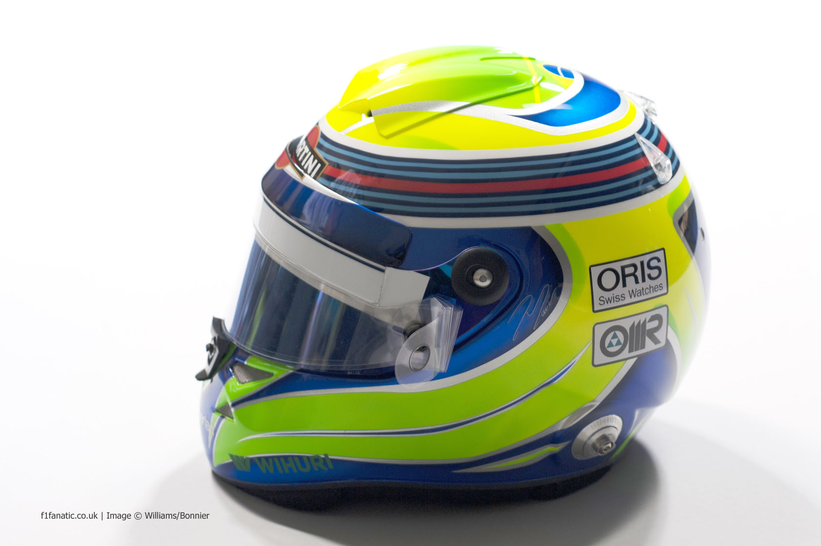 Felipe Massa helmet, Williams, 2014