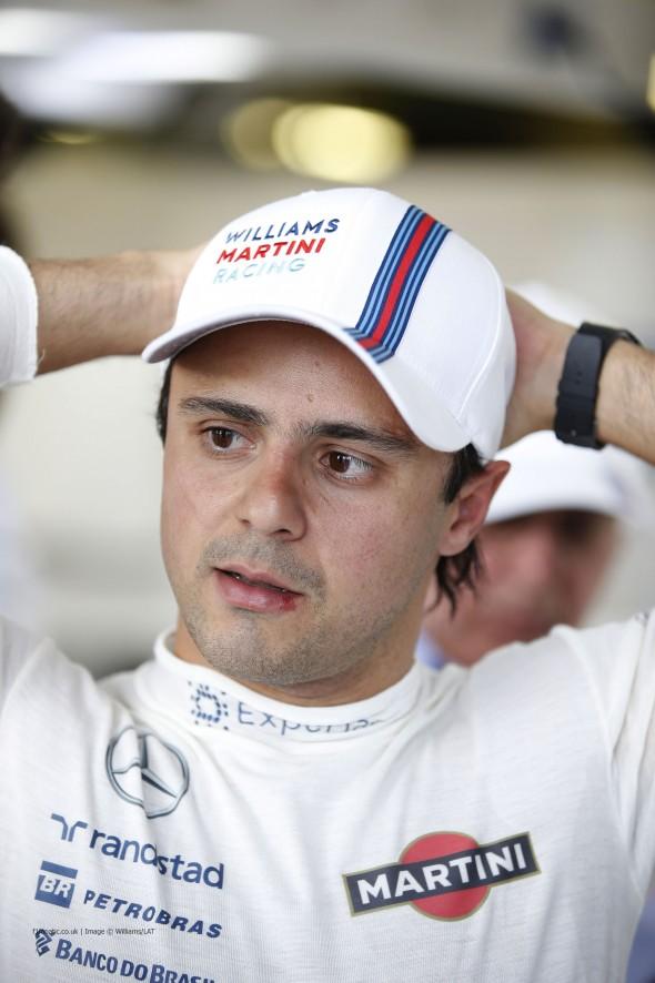 Felipe Massa, Williams, Albert Park, 2014