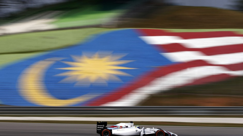 Felipe Massa, Williams, Sepang International Circuit, 2014