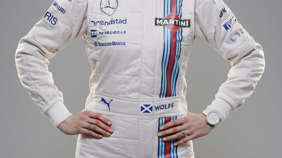 Susie Wolff, Williams, 2014