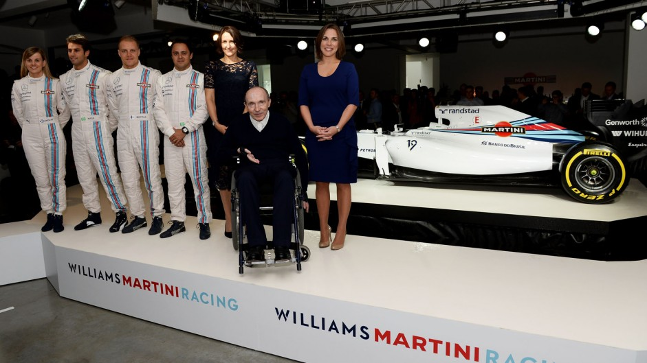 """Williams pleased to """"luck into"""" Mercedes engine deal"""