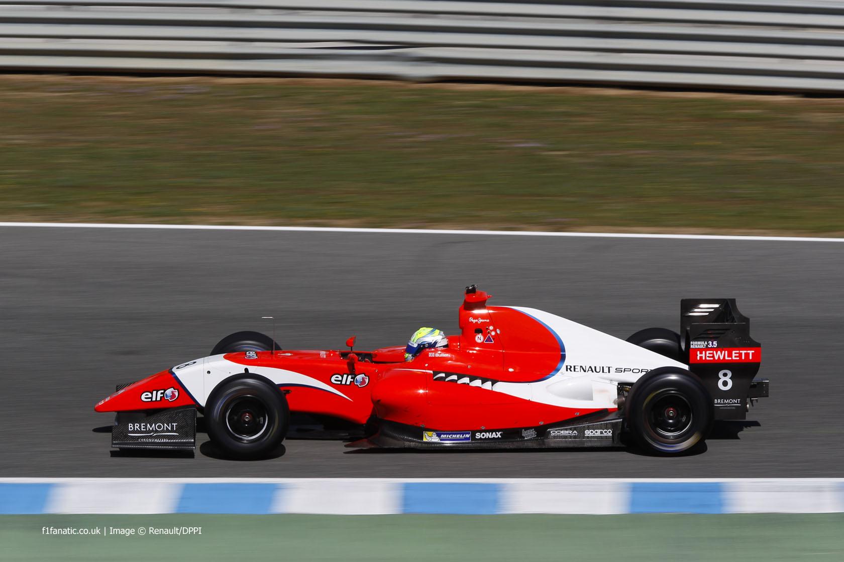 William Buller, Arden, Jerez, 2014