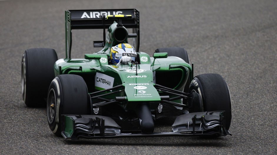 Marcus Ericsson, Caterham, Shanghai International Circuit, 2014