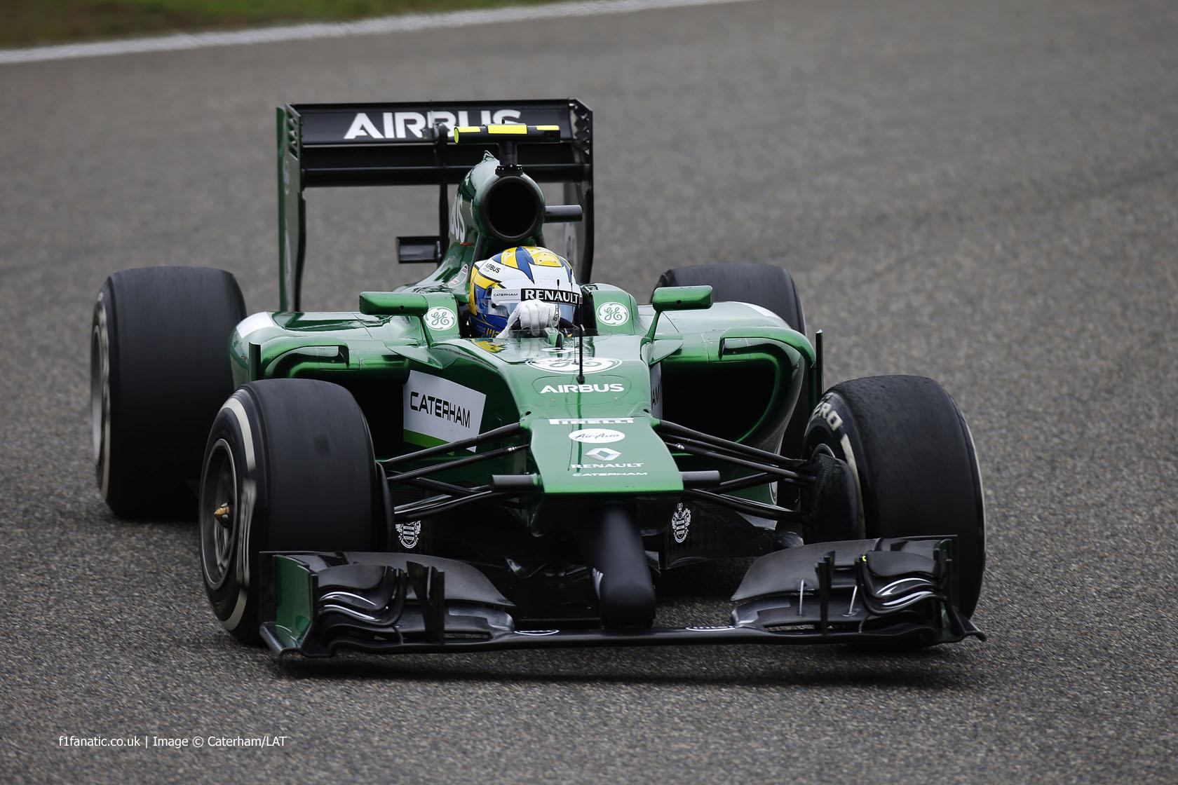 Marcus Ericsson, Caterham, Shanghai International Circuit, 2014
