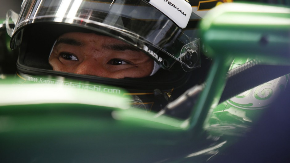 Caterham confirm Kobayashi will drive at home