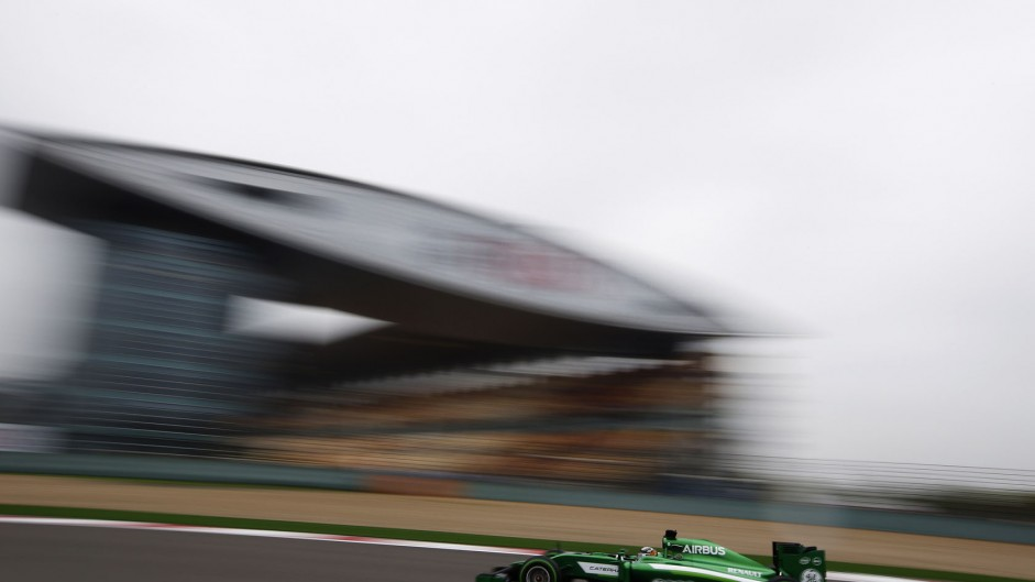 Kamui Kobayashi, Caterham, Shanghai International Circuit, 2014