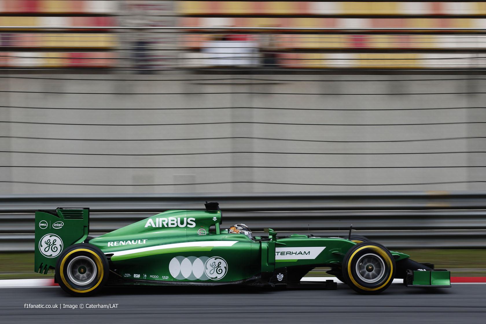 Kamui Kobayashi, Caterham, Shanghai International Circuit, 2014