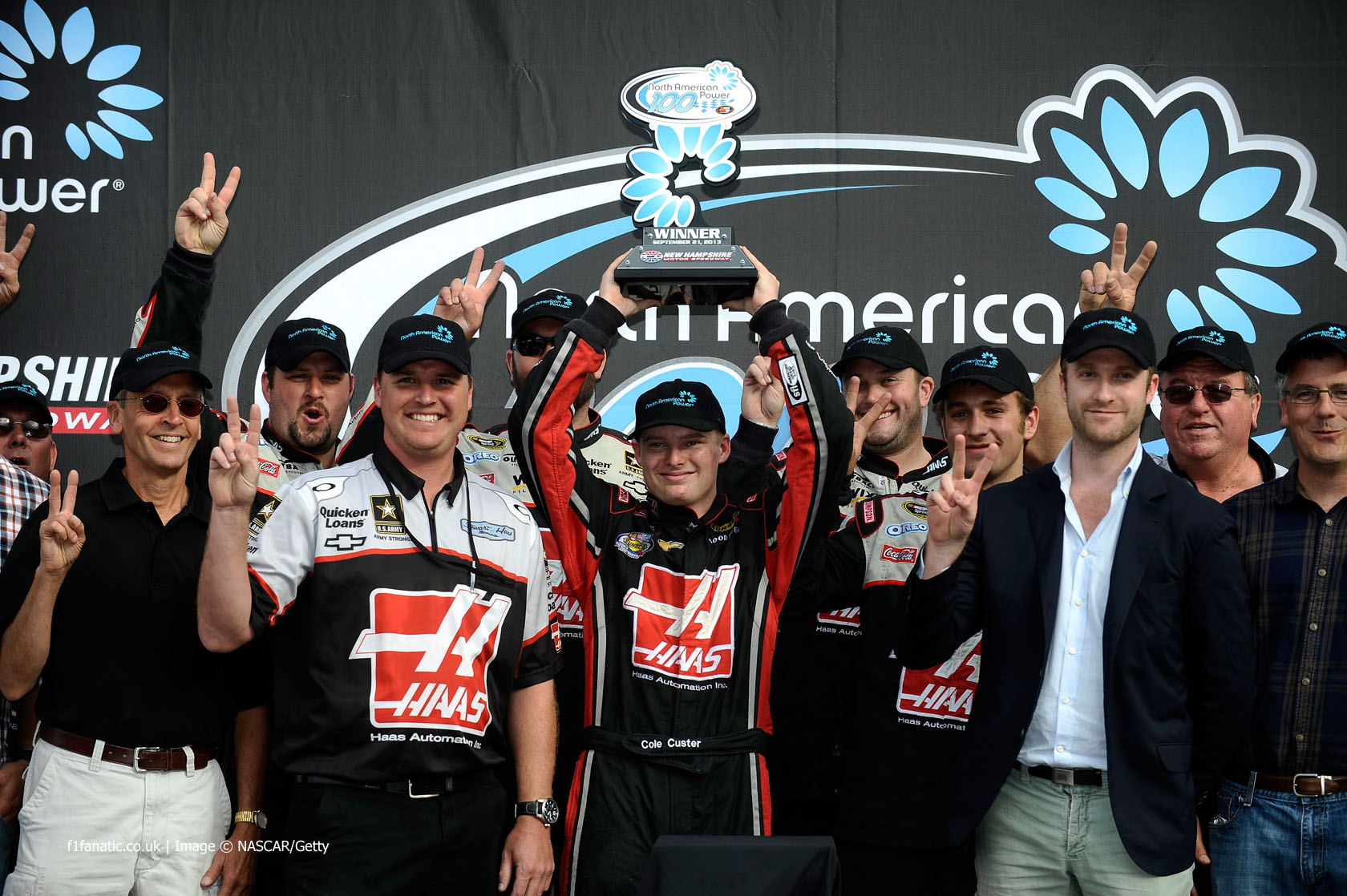 Cole Custer, Haas Automation, New Hampshire, 2013
