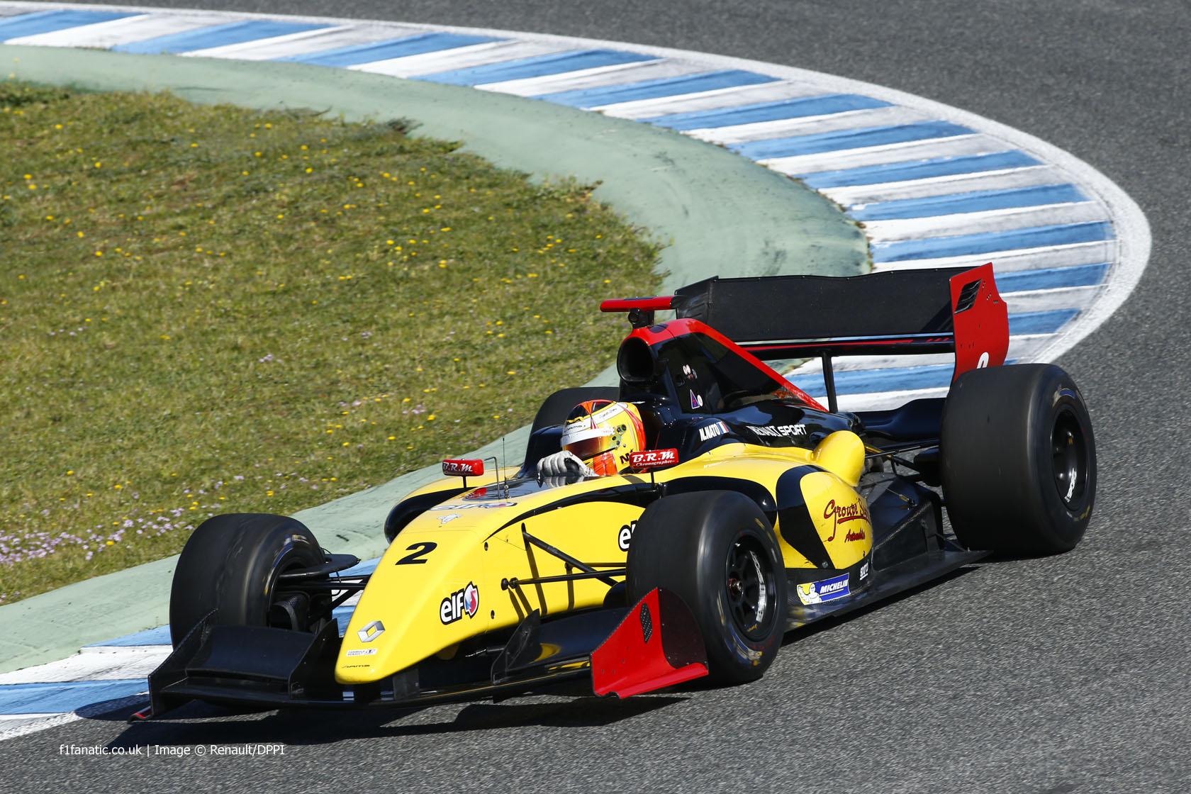 Norman Nato, DAMS, Jerez, 2014