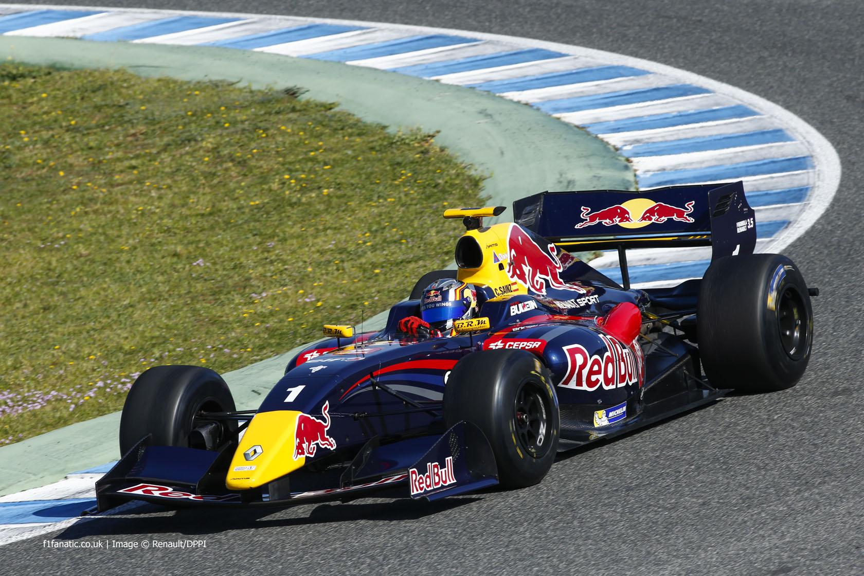 Carlos Sainz Jnr, DAMS, Jerez, 2014