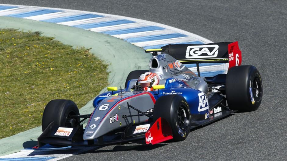 Luca Ghiotto, Draco, Jerez, 2014